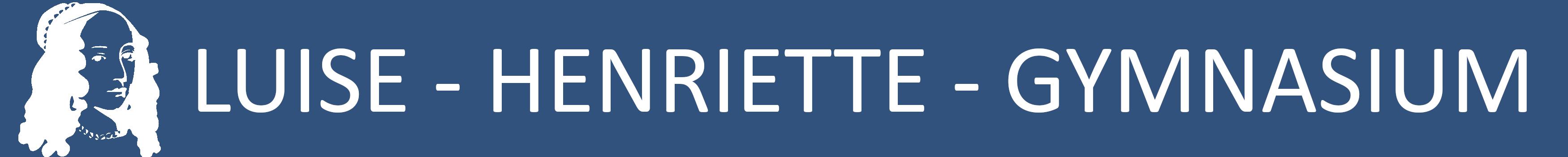 Website des Luise-Henriette-Gymnasiums Logo